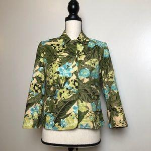 ANN TAYLOR LOFT Floral Blazer in Size 4